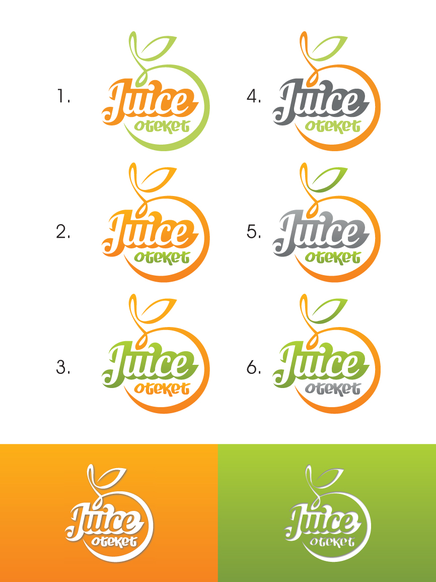 Logo Design by RasYa Muhammad Athaya - Entry No. 33 in the Logo Design Contest juiceoteket  Logo Design.