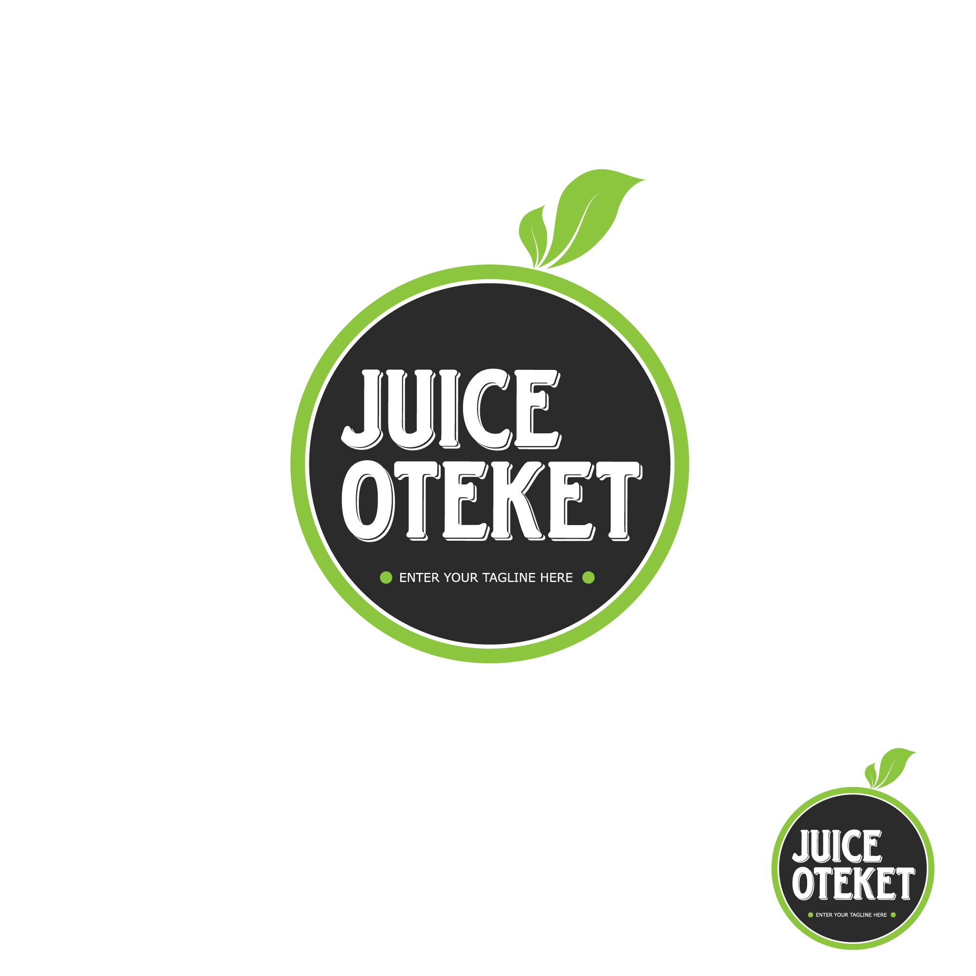Logo Design by Reza Irawan - Entry No. 35 in the Logo Design Contest juiceoteket  Logo Design.