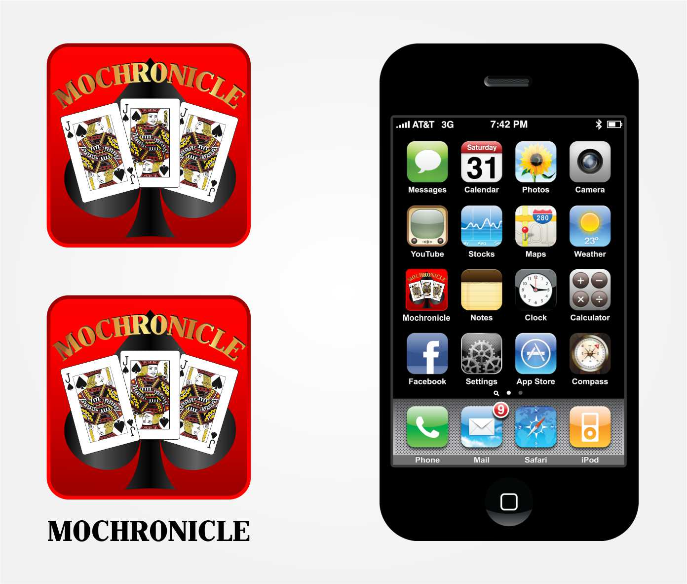 Logo Design by Private User - Entry No. 4 in the Logo Design Contest New Logo Design for mochronicle.