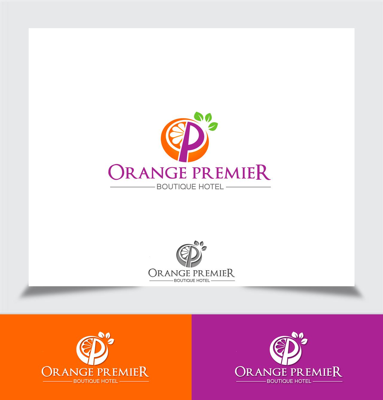 Logo Design by Tajammul Hussain - Entry No. 102 in the Logo Design Contest Captivating Logo Design for Orange Premier.