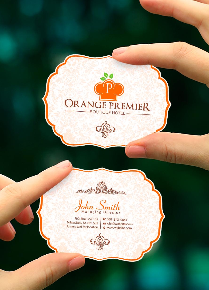 Logo Design by Tajammul Hussain - Entry No. 113 in the Logo Design Contest Captivating Logo Design for Orange Premier.