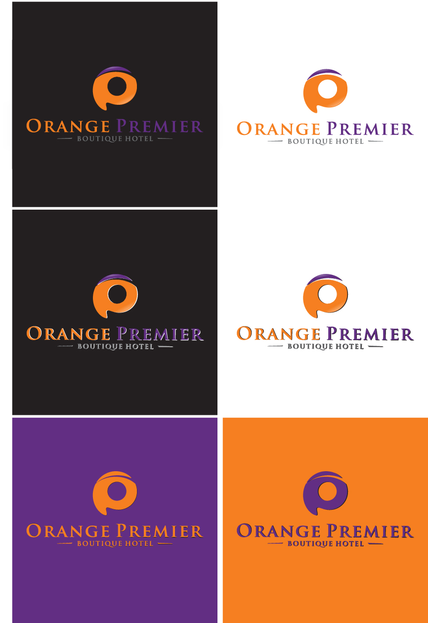 Logo Design by RasYa Muhammad Athaya - Entry No. 134 in the Logo Design Contest Captivating Logo Design for Orange Premier.