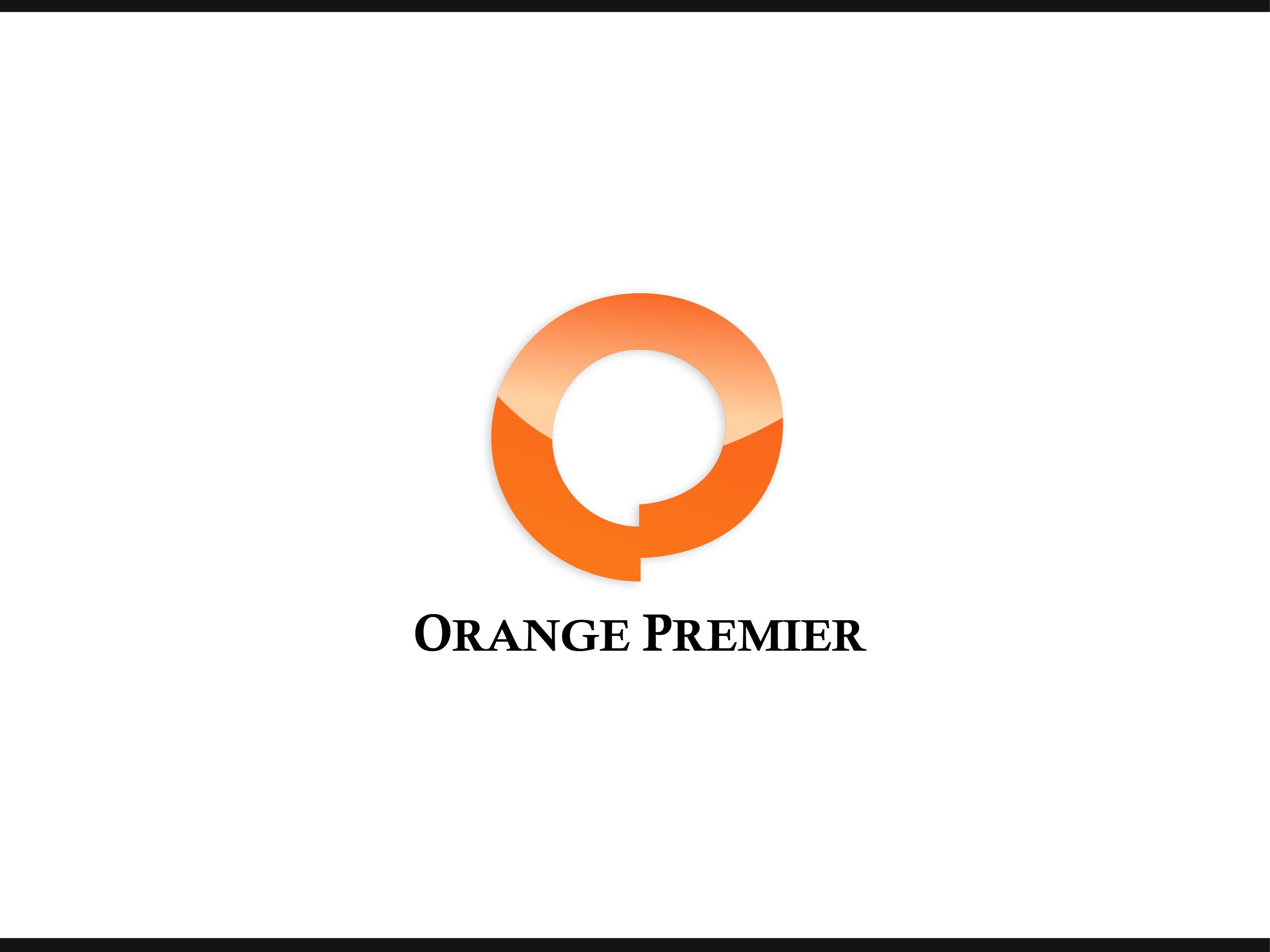Logo Design by Allan Esclamado - Entry No. 184 in the Logo Design Contest Captivating Logo Design for Orange Premier.
