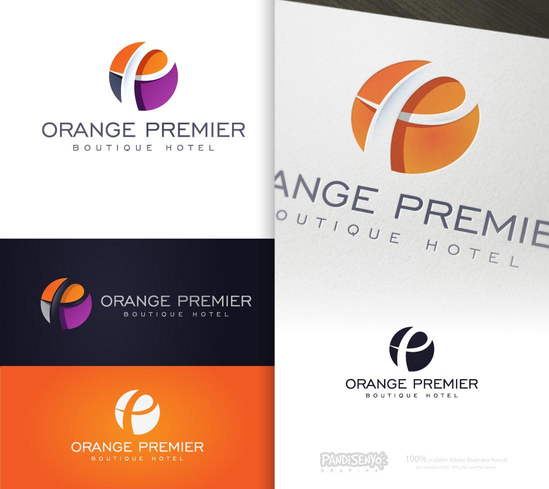 Logo Design by pandisenyo - Entry No. 186 in the Logo Design Contest Captivating Logo Design for Orange Premier.