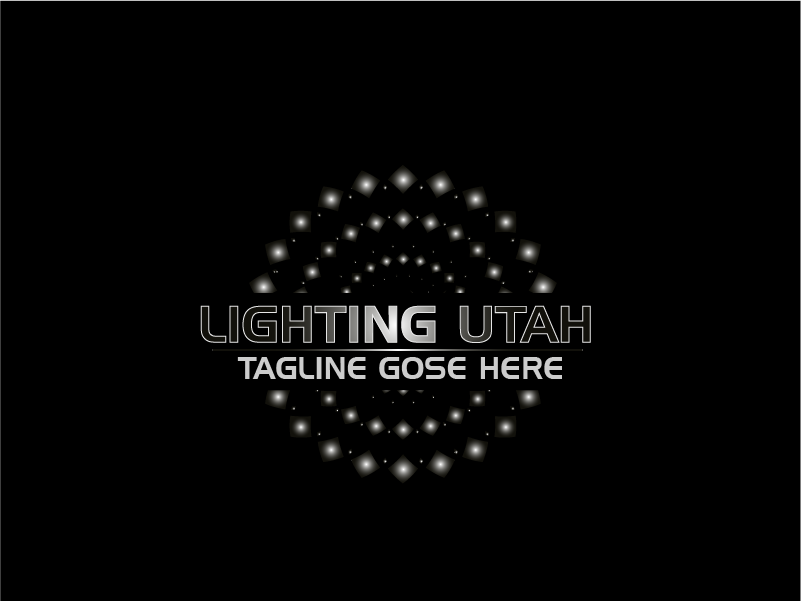 Logo Design by Private User - Entry No. 5 in the Logo Design Contest Imaginative Logo Design for Lighting Utah. A Galaxie lighting company.