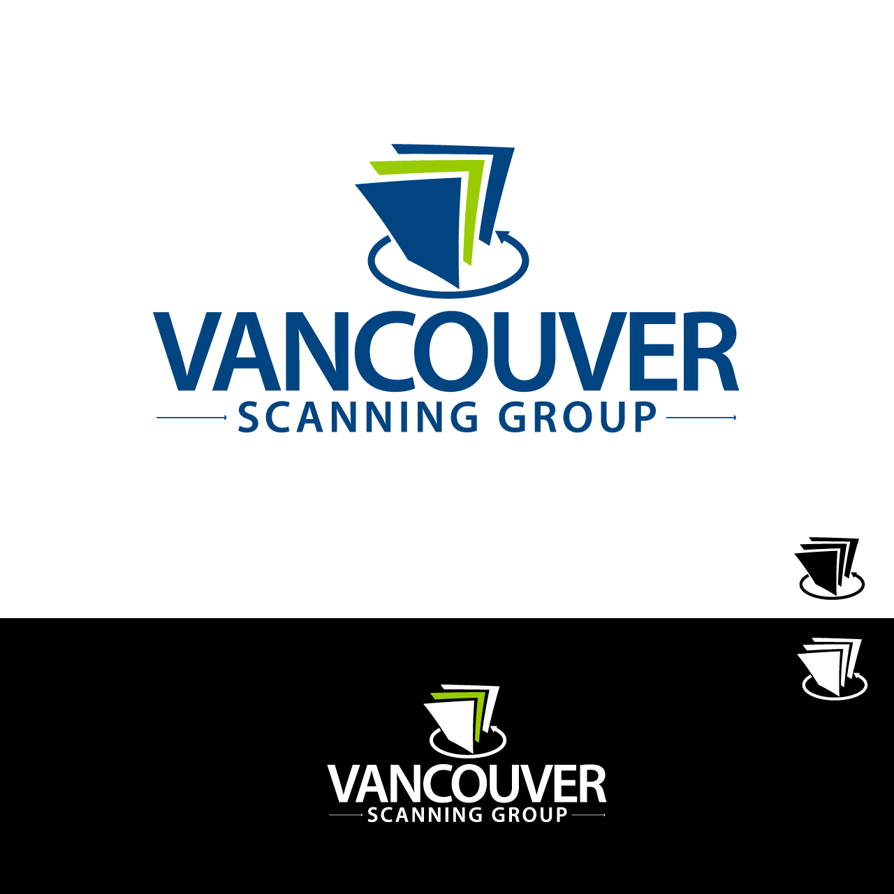 Logo Design by umxca - Entry No. 56 in the Logo Design Contest Vancouver Scanning Group.