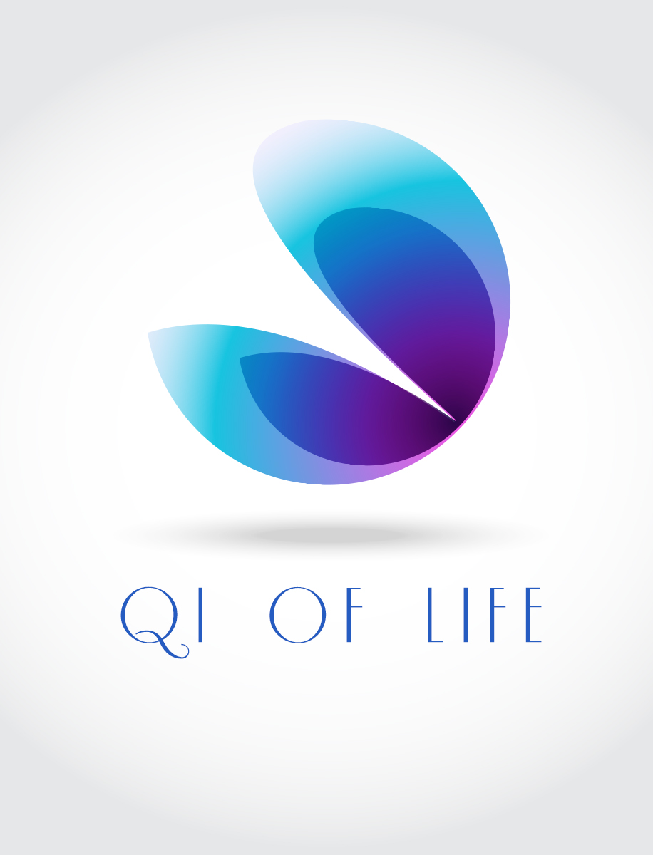 Logo Design by Raafat Adly - Entry No. 1 in the Logo Design Contest Fun Logo Design for Qi of Life.