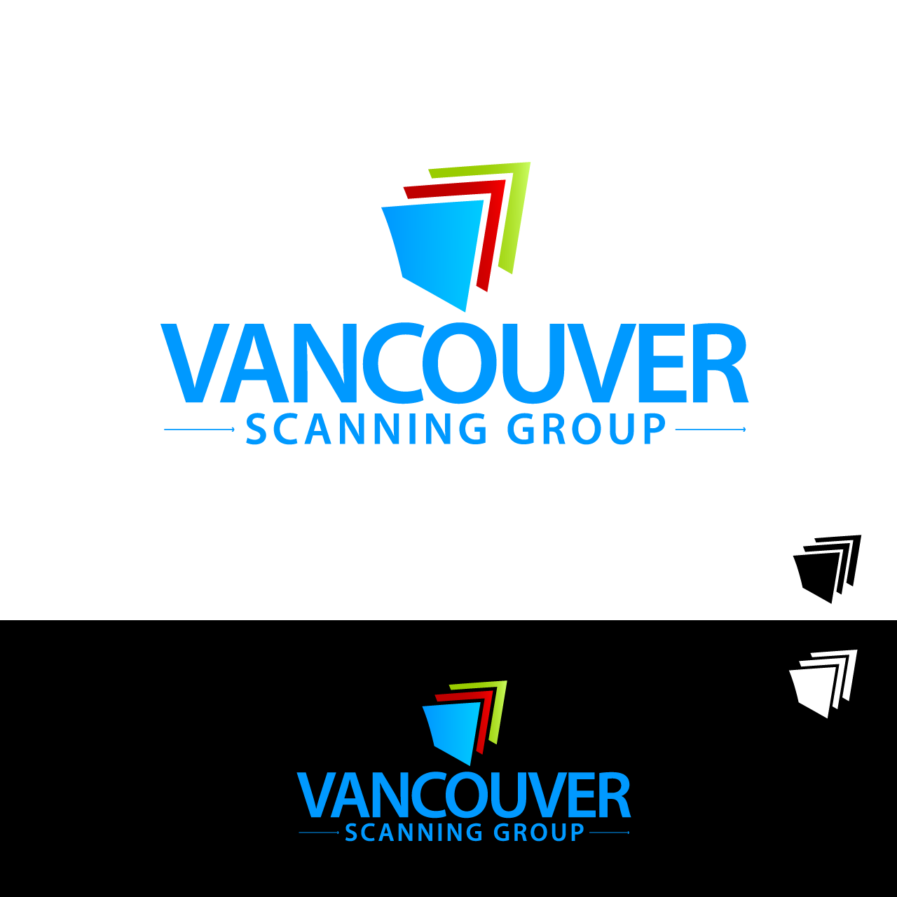 Logo Design by umxca - Entry No. 59 in the Logo Design Contest Vancouver Scanning Group.