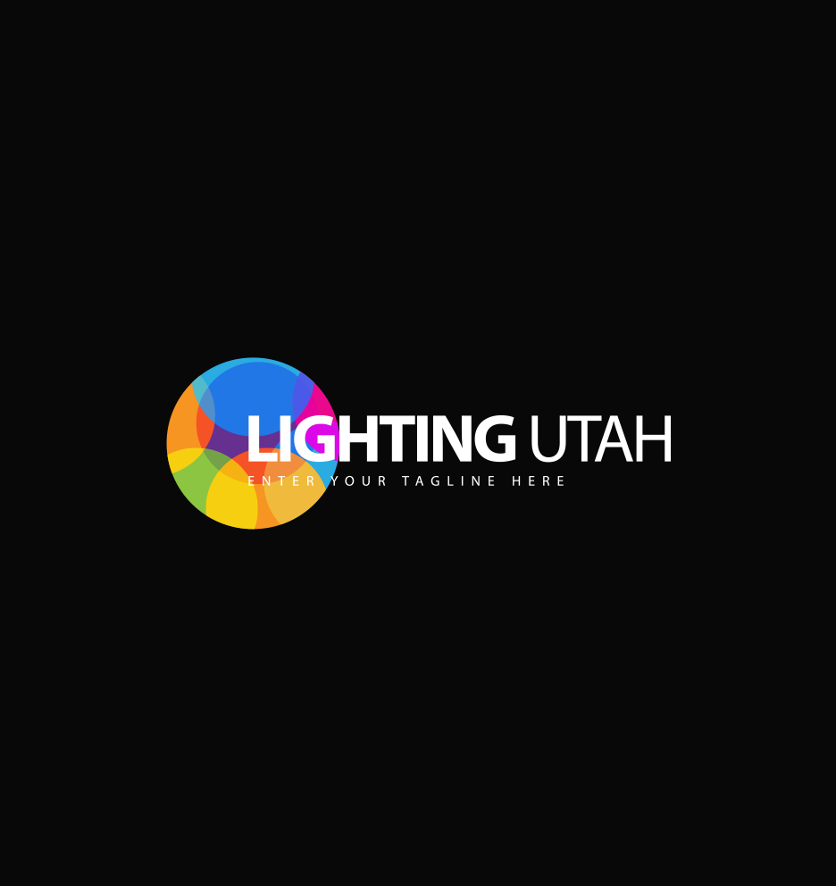 Logo Design by Asrullah Muin - Entry No. 42 in the Logo Design Contest Imaginative Logo Design for Lighting Utah. A Galaxie lighting company.