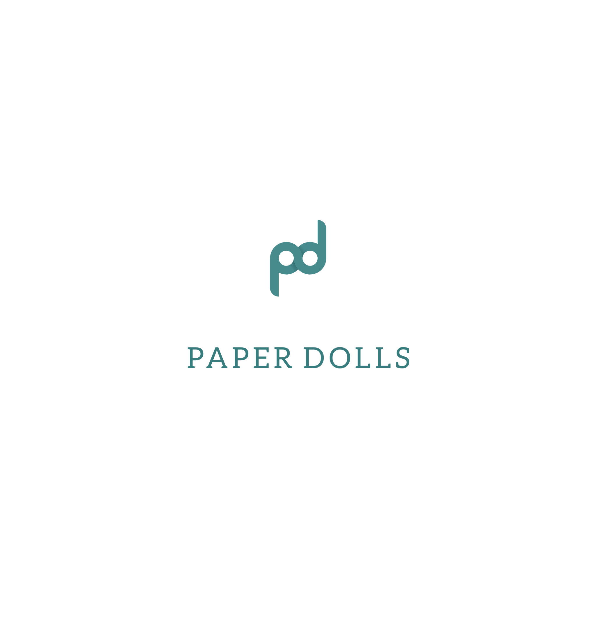 Logo Design by Qwerty78 - Entry No. 10 in the Logo Design Contest Creative Logo Design for Paper Dolls.