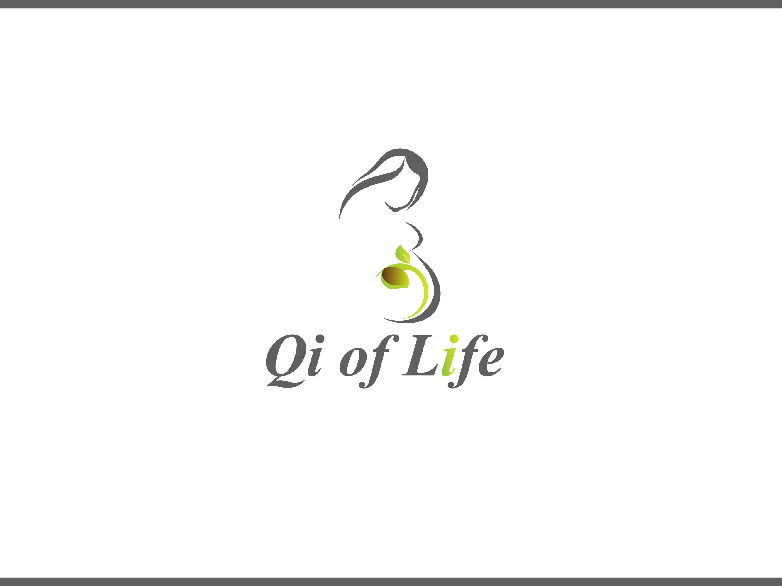 Logo Design by Allan Esclamado - Entry No. 19 in the Logo Design Contest Fun Logo Design for Qi of Life.
