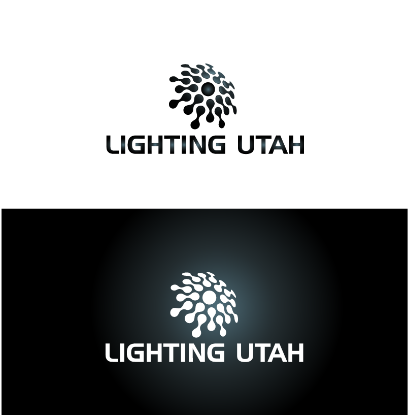 Logo Design by Private User - Entry No. 58 in the Logo Design Contest Imaginative Logo Design for Lighting Utah. A Galaxie lighting company.