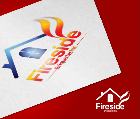 Logo Design by Private User - Entry No. 8 in the Logo Design Contest Fun Logo Design for Fireside Briquettes Inc..