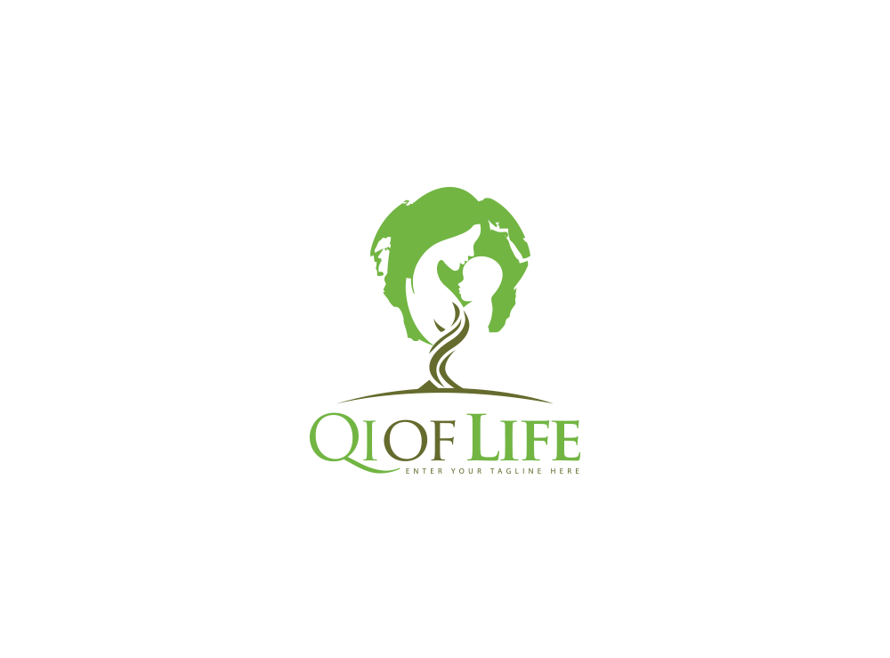 Logo Design by Asrullah Muin - Entry No. 23 in the Logo Design Contest Fun Logo Design for Qi of Life.