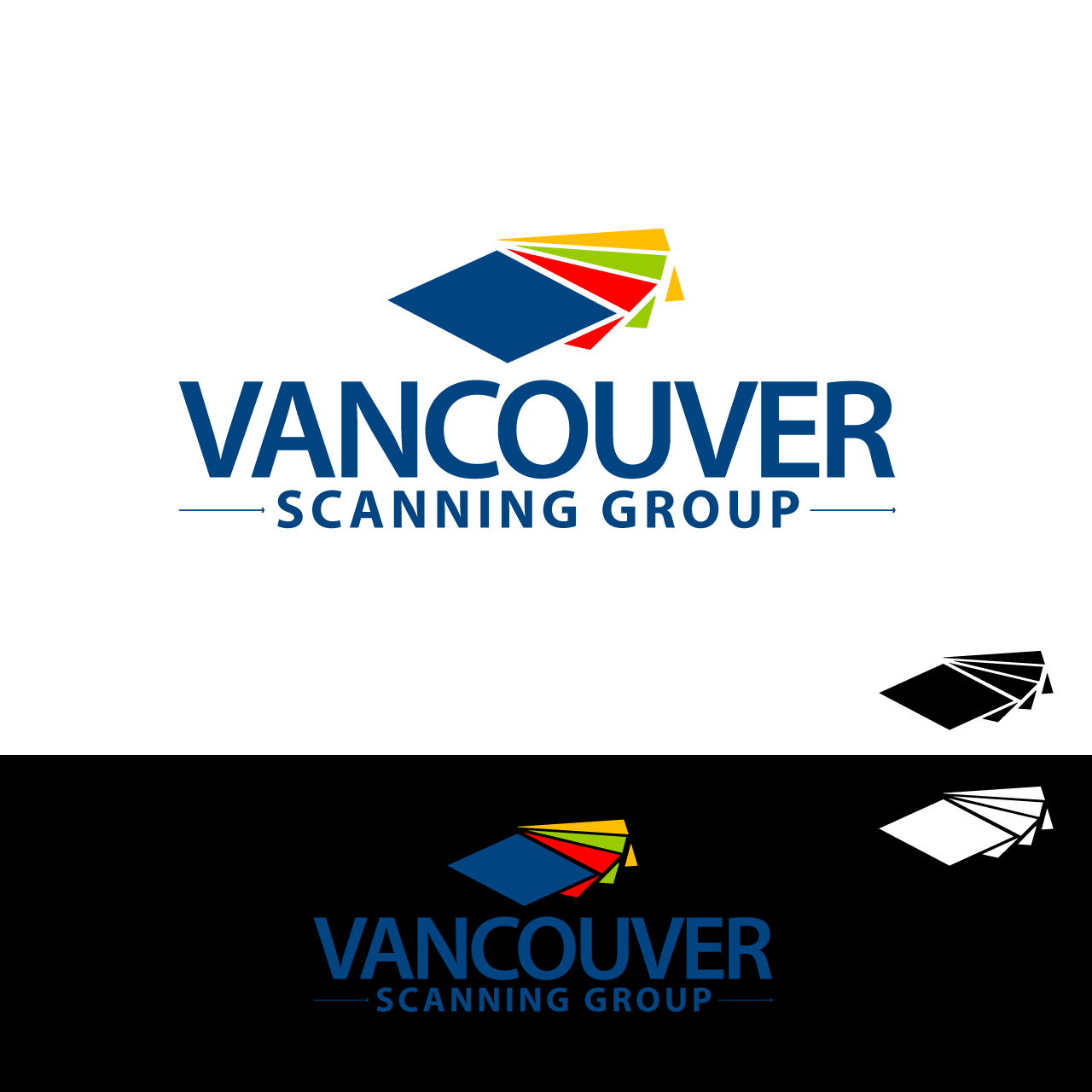 Logo Design by umxca - Entry No. 75 in the Logo Design Contest Vancouver Scanning Group.
