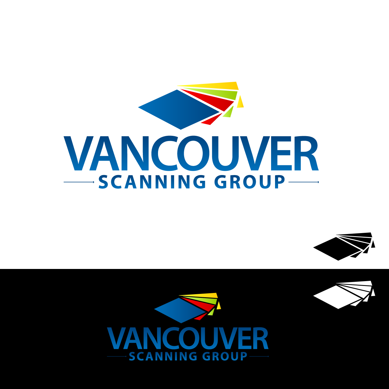 Logo Design by umxca - Entry No. 76 in the Logo Design Contest Vancouver Scanning Group.
