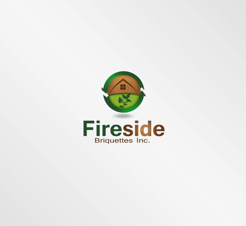 Logo Design by Private User - Entry No. 16 in the Logo Design Contest Fun Logo Design for Fireside Briquettes Inc..