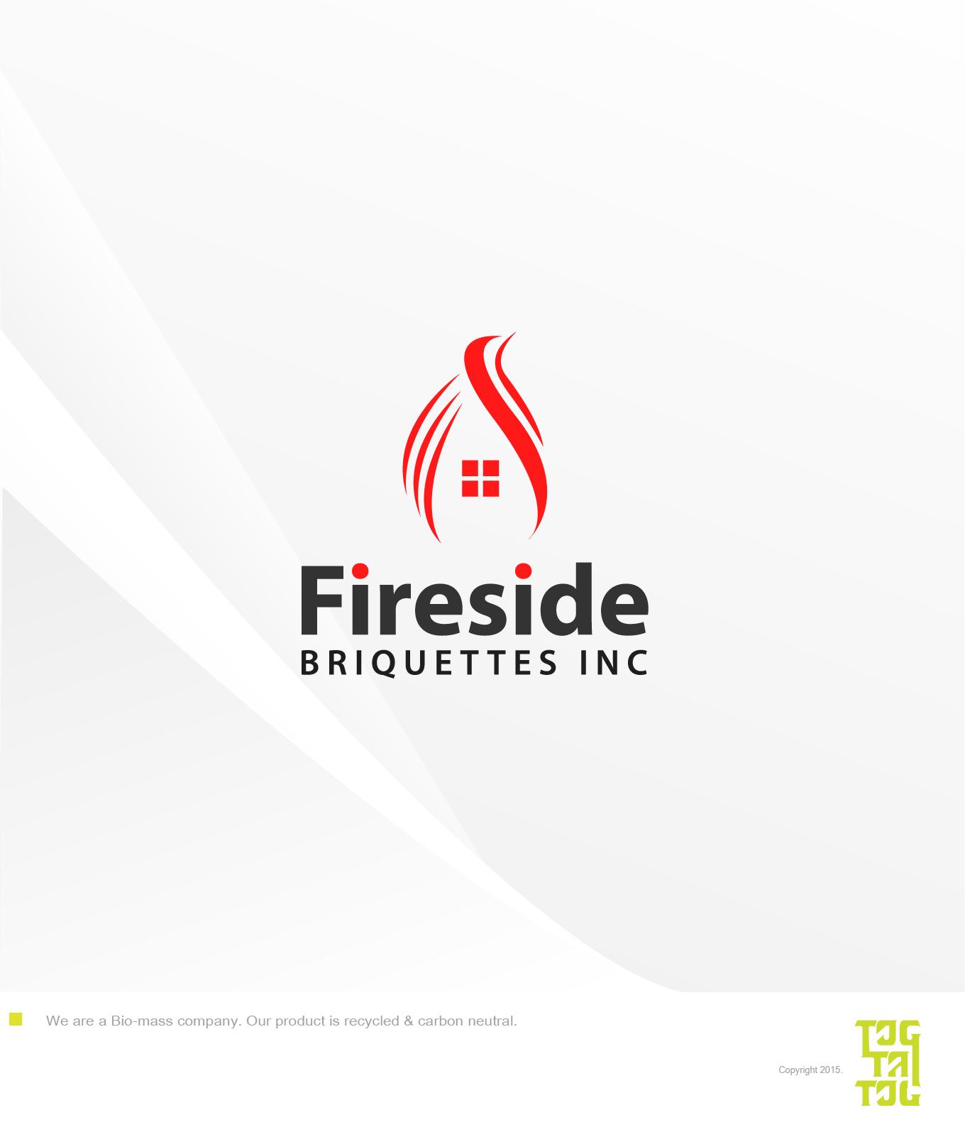 Logo Design by Roel Laurito - Entry No. 18 in the Logo Design Contest Fun Logo Design for Fireside Briquettes Inc..