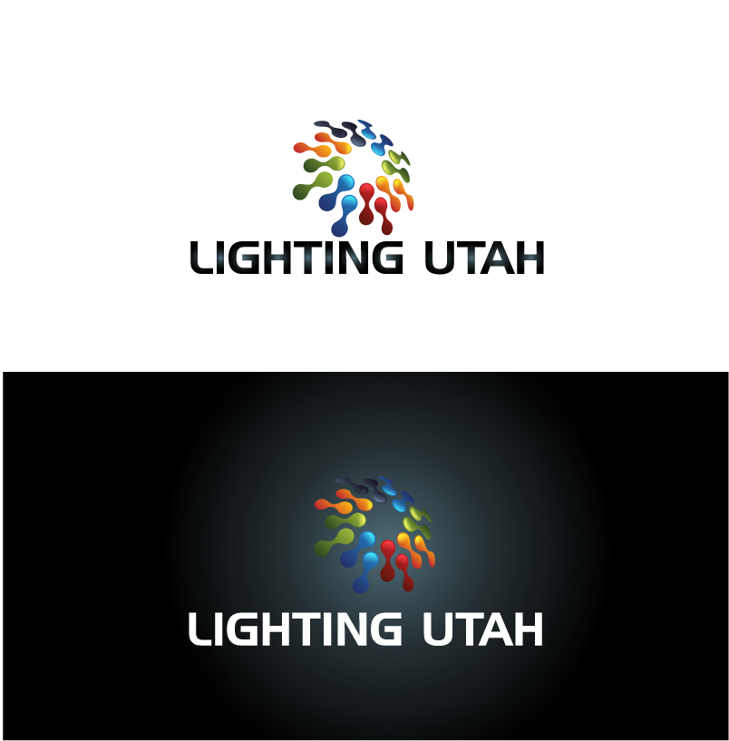 Logo Design by Private User - Entry No. 127 in the Logo Design Contest Imaginative Logo Design for Lighting Utah. A Galaxie lighting company.