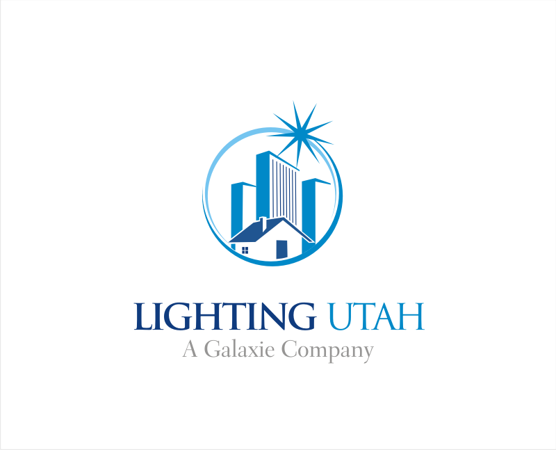 Logo Design by LogoHoldings - Entry No. 145 in the Logo Design Contest Imaginative Logo Design for Lighting Utah. A Galaxie lighting company.