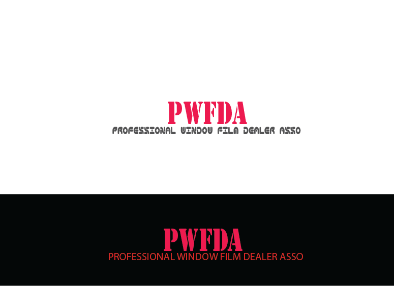 Logo Design by Shahnawaz Ahmed - Entry No. 4 in the Logo Design Contest  Logo Design for Professional Window Film Dealer Asso. (PWFDA).