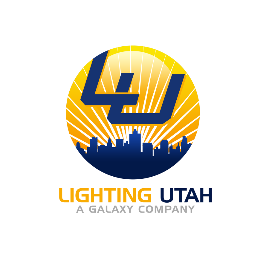 Logo Design by Private User - Entry No. 162 in the Logo Design Contest Imaginative Logo Design for Lighting Utah. A Galaxie lighting company.