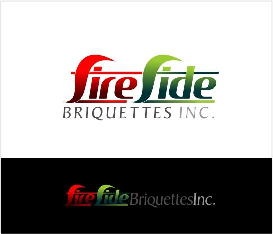 Logo Design by Private User - Entry No. 54 in the Logo Design Contest Fun Logo Design for Fireside Briquettes Inc..
