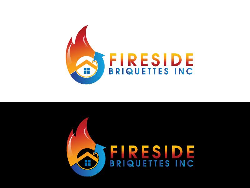 Logo Design by brands_in - Entry No. 66 in the Logo Design Contest Fun Logo Design for Fireside Briquettes Inc..