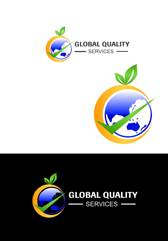Logo Design by Hania Hassaan - Entry No. 45 in the Logo Design Contest Inspiring Logo Design for Global Quality Services Inc..