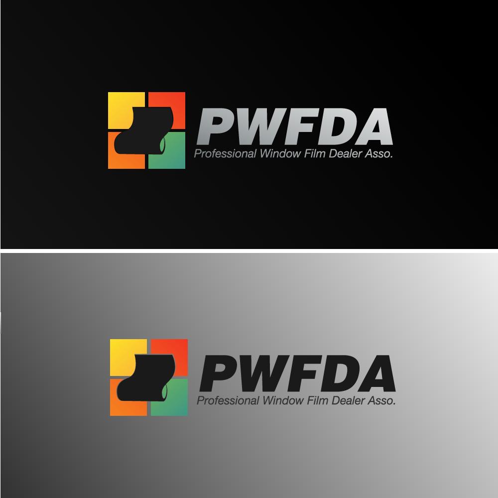 Logo Design by rockin - Entry No. 29 in the Logo Design Contest  Logo Design for Professional Window Film Dealer Asso. (PWFDA).