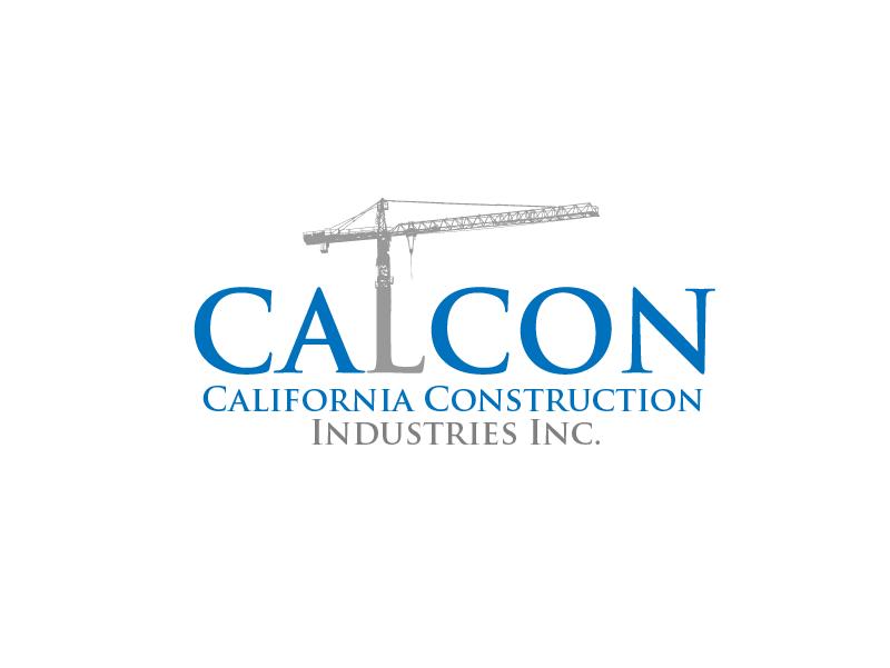 Logo Design by Private User - Entry No. 5 in the Logo Design Contest California Construction Industries Inc. Logo Design.
