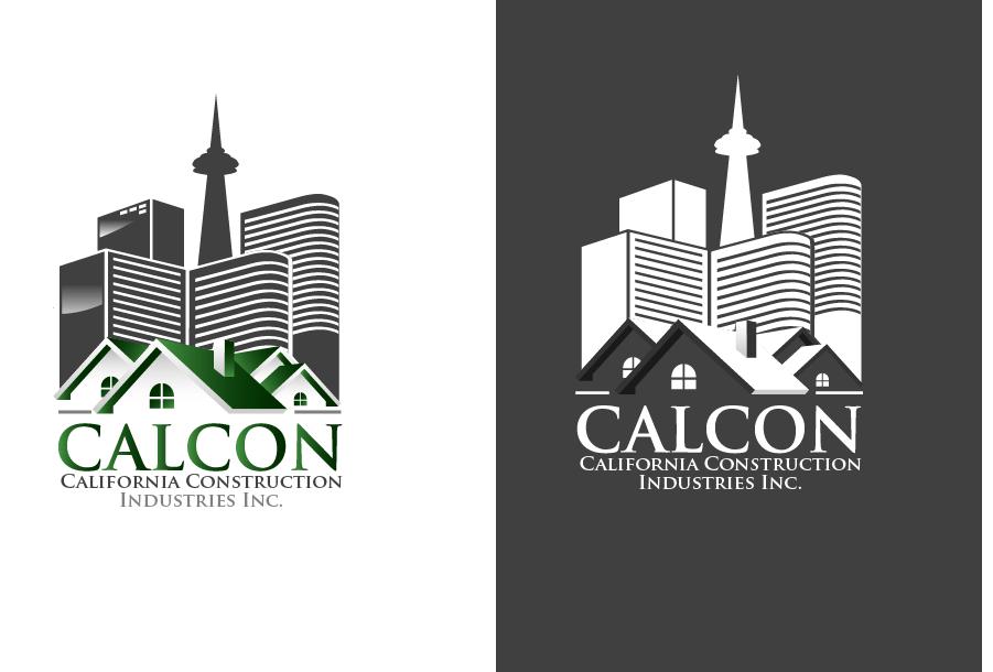 Logo Design by Private User - Entry No. 6 in the Logo Design Contest California Construction Industries Inc. Logo Design.