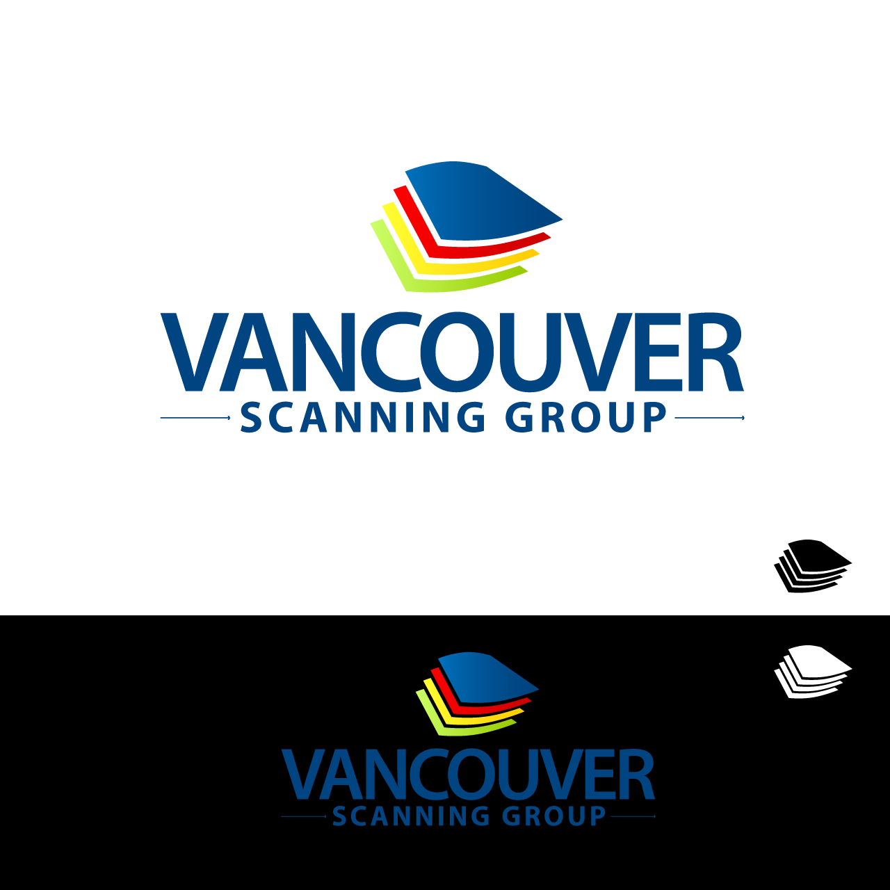 Logo Design by umxca - Entry No. 84 in the Logo Design Contest Vancouver Scanning Group.