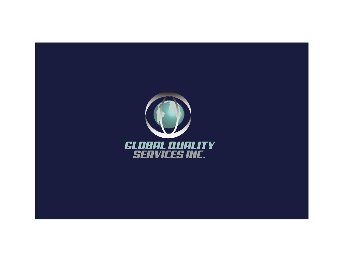 Logo Design by Ahaan - Entry No. 56 in the Logo Design Contest Inspiring Logo Design for Global Quality Services Inc..
