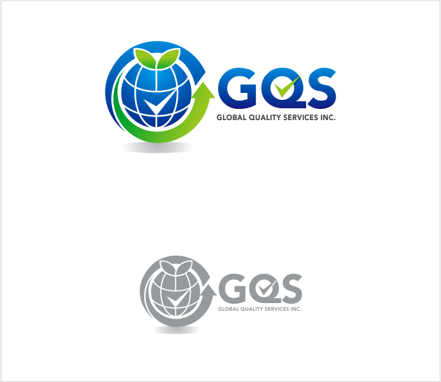 Logo Design by Armada Jamaluddin - Entry No. 62 in the Logo Design Contest Inspiring Logo Design for Global Quality Services Inc..