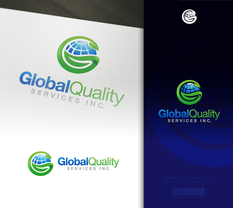 Logo Design by pandisenyo - Entry No. 64 in the Logo Design Contest Inspiring Logo Design for Global Quality Services Inc..