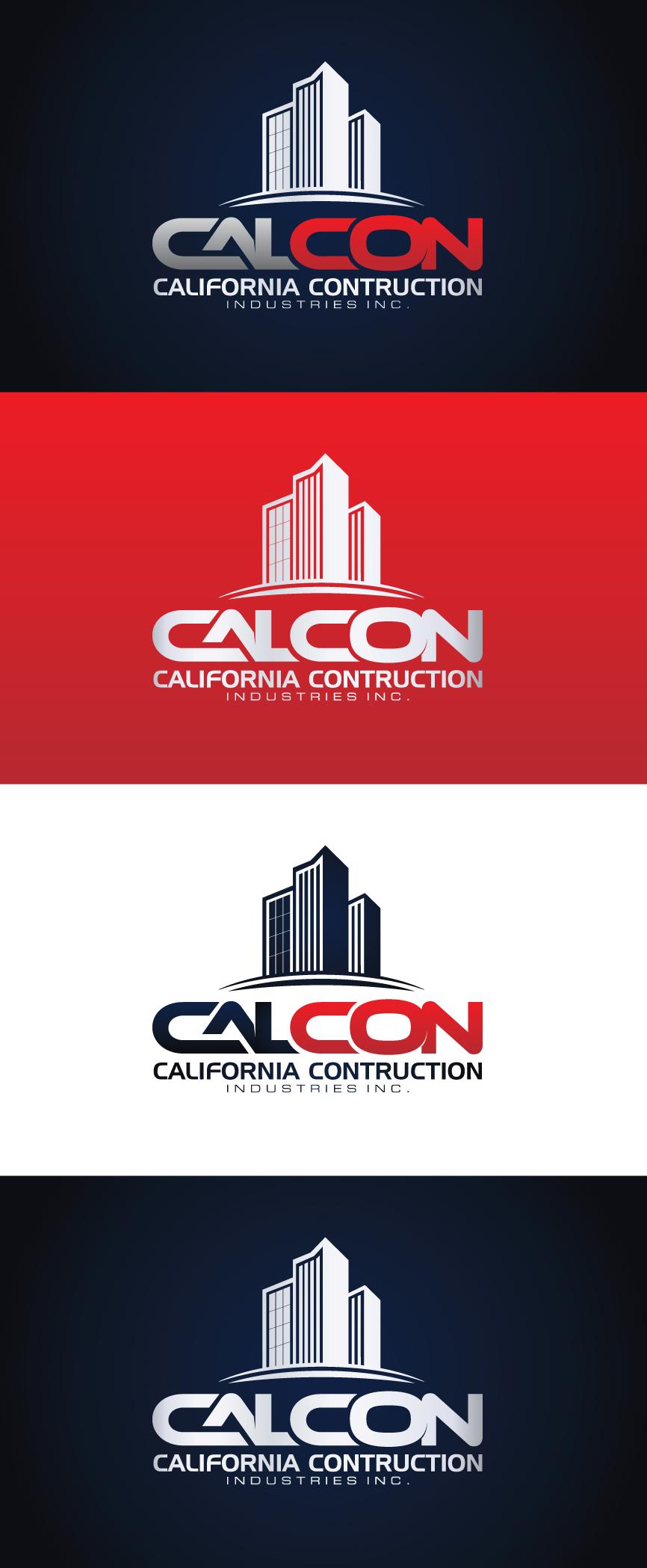 Logo Design by RasYa Muhammad Athaya - Entry No. 16 in the Logo Design Contest California Construction Industries Inc. Logo Design.