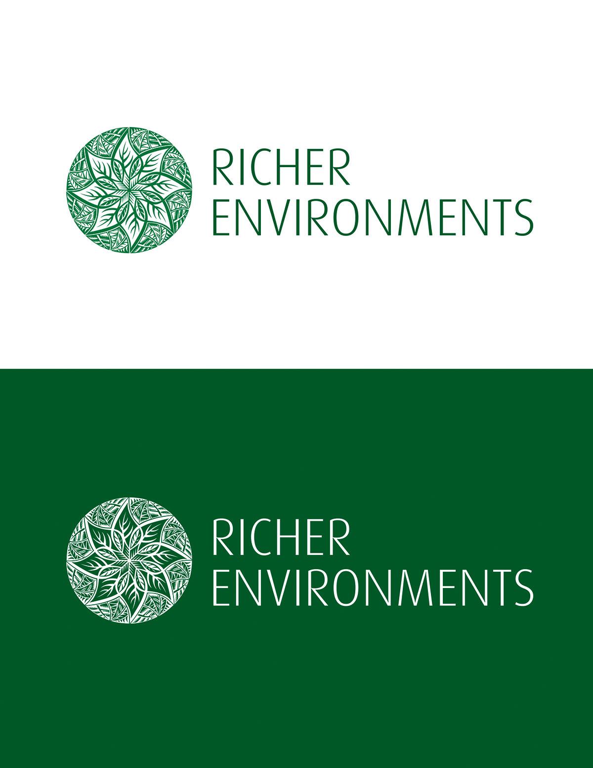 Logo Design by Joel Policarpio - Entry No. 8 in the Logo Design Contest Unique Logo Design Wanted for Richer Environments.