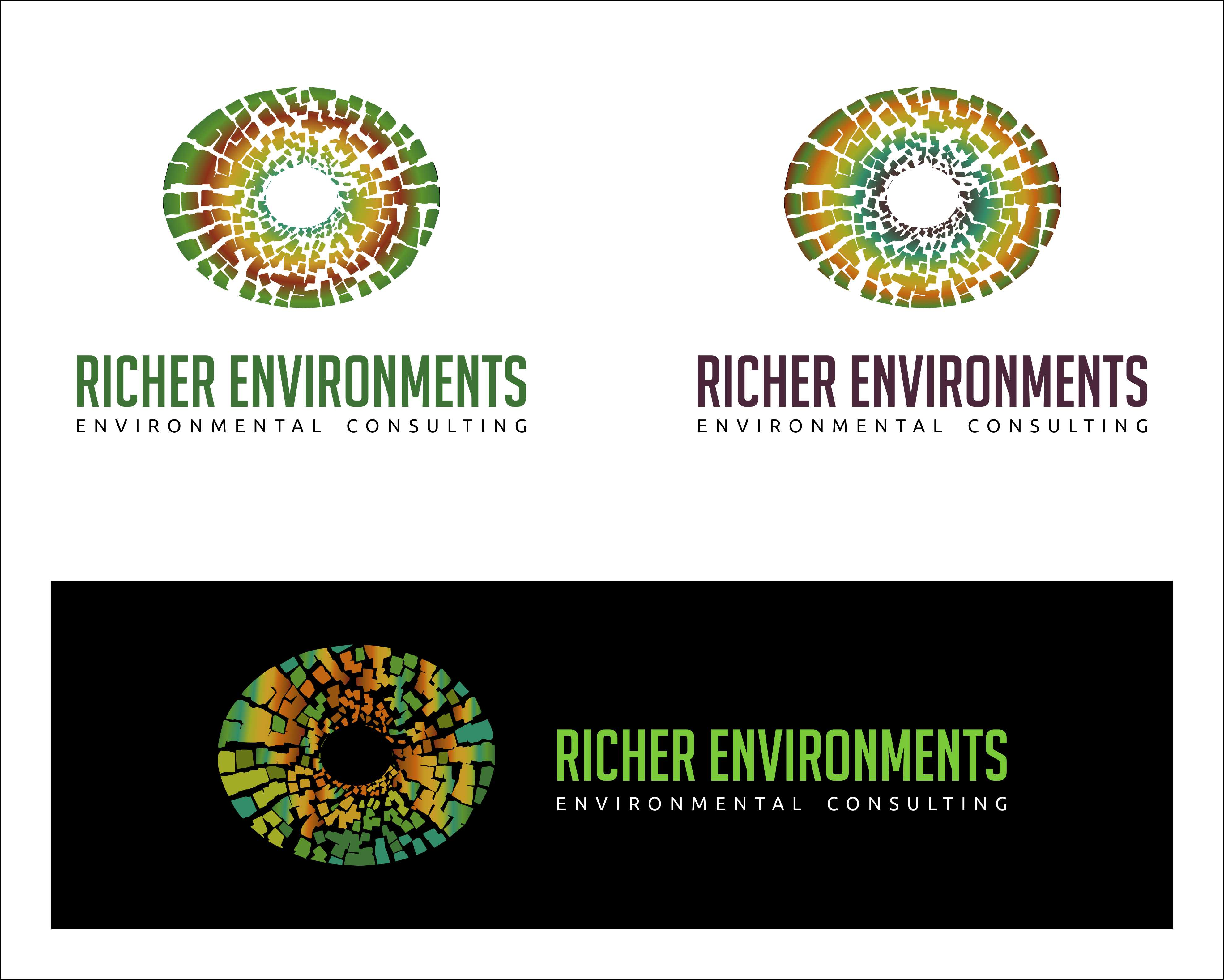 Logo Design by Private User - Entry No. 16 in the Logo Design Contest Unique Logo Design Wanted for Richer Environments.