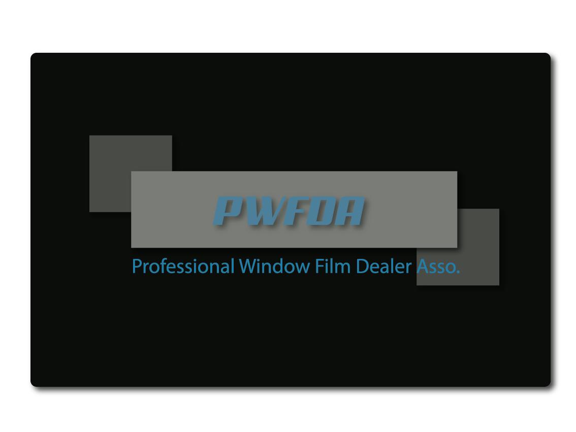 Logo Design by Ahaan - Entry No. 45 in the Logo Design Contest  Logo Design for Professional Window Film Dealer Asso. (PWFDA).