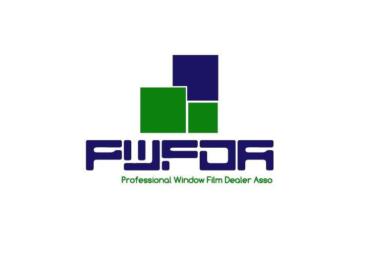Logo Design by Mazhar Ali - Entry No. 50 in the Logo Design Contest  Logo Design for Professional Window Film Dealer Asso. (PWFDA).