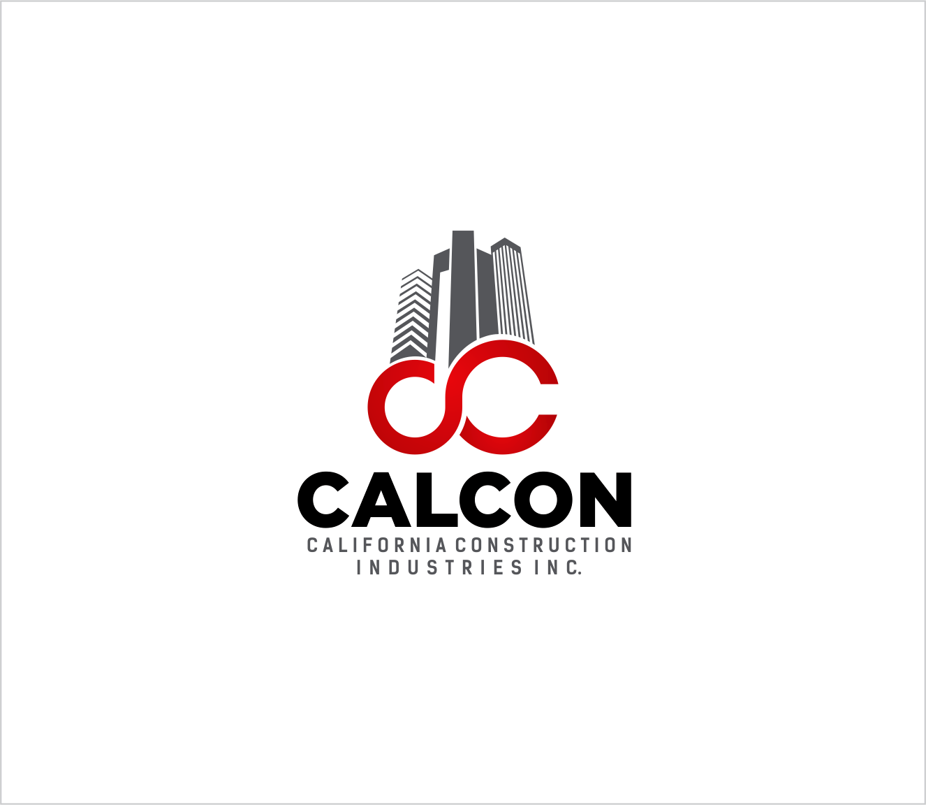 Logo Design by Armada Jamaluddin - Entry No. 30 in the Logo Design Contest California Construction Industries Inc. Logo Design.