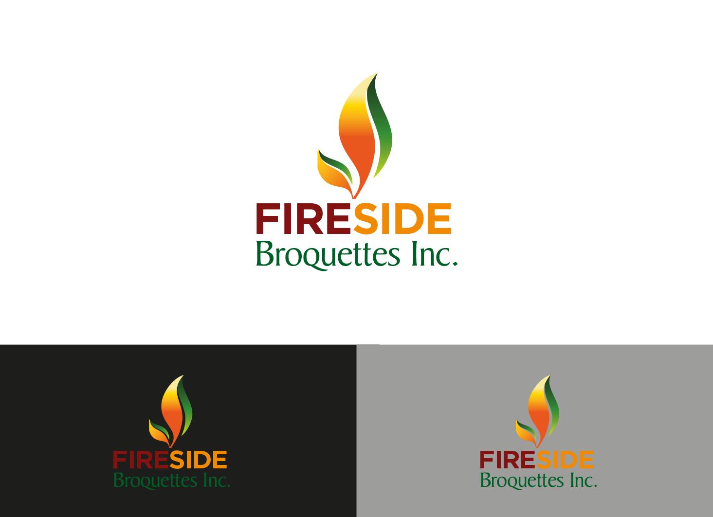 Logo Design by Private User - Entry No. 92 in the Logo Design Contest Fun Logo Design for Fireside Briquettes Inc..