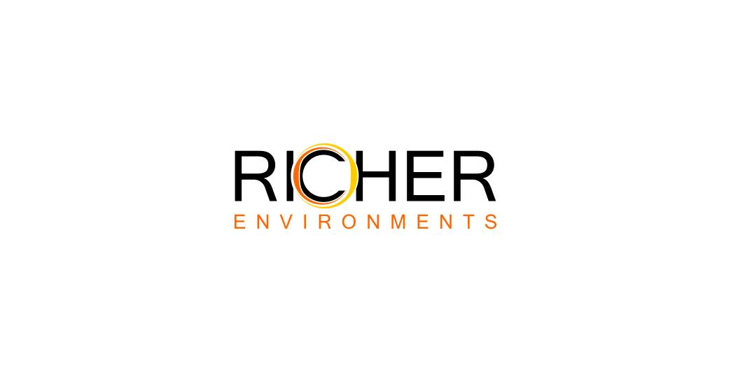 Logo Design by Agus Martoyo - Entry No. 37 in the Logo Design Contest Unique Logo Design Wanted for Richer Environments.
