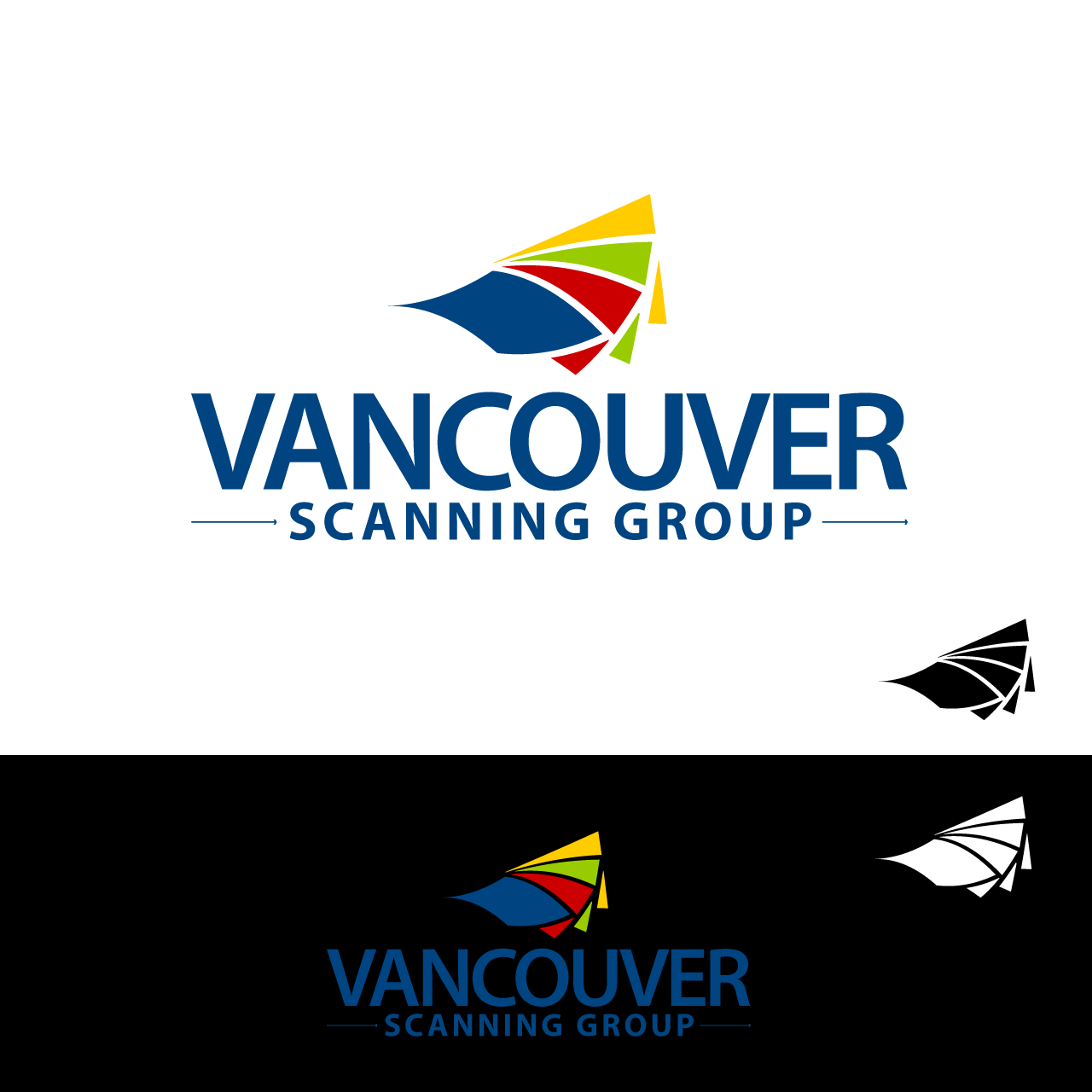 Logo Design by umxca - Entry No. 91 in the Logo Design Contest Vancouver Scanning Group.