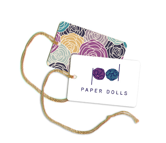 Logo Design by Private User - Entry No. 86 in the Logo Design Contest Creative Logo Design for Paper Dolls.