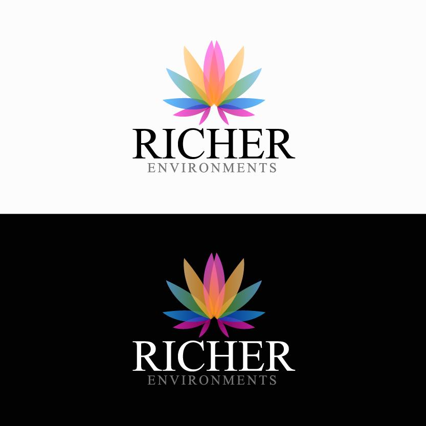 Logo Design by chAnDOS - Entry No. 62 in the Logo Design Contest Unique Logo Design Wanted for Richer Environments.