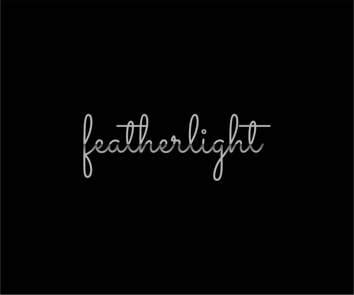 Logo Design by Ashish Ranjan - Entry No. 5 in the Logo Design Contest Fun Logo Design for featherlight.