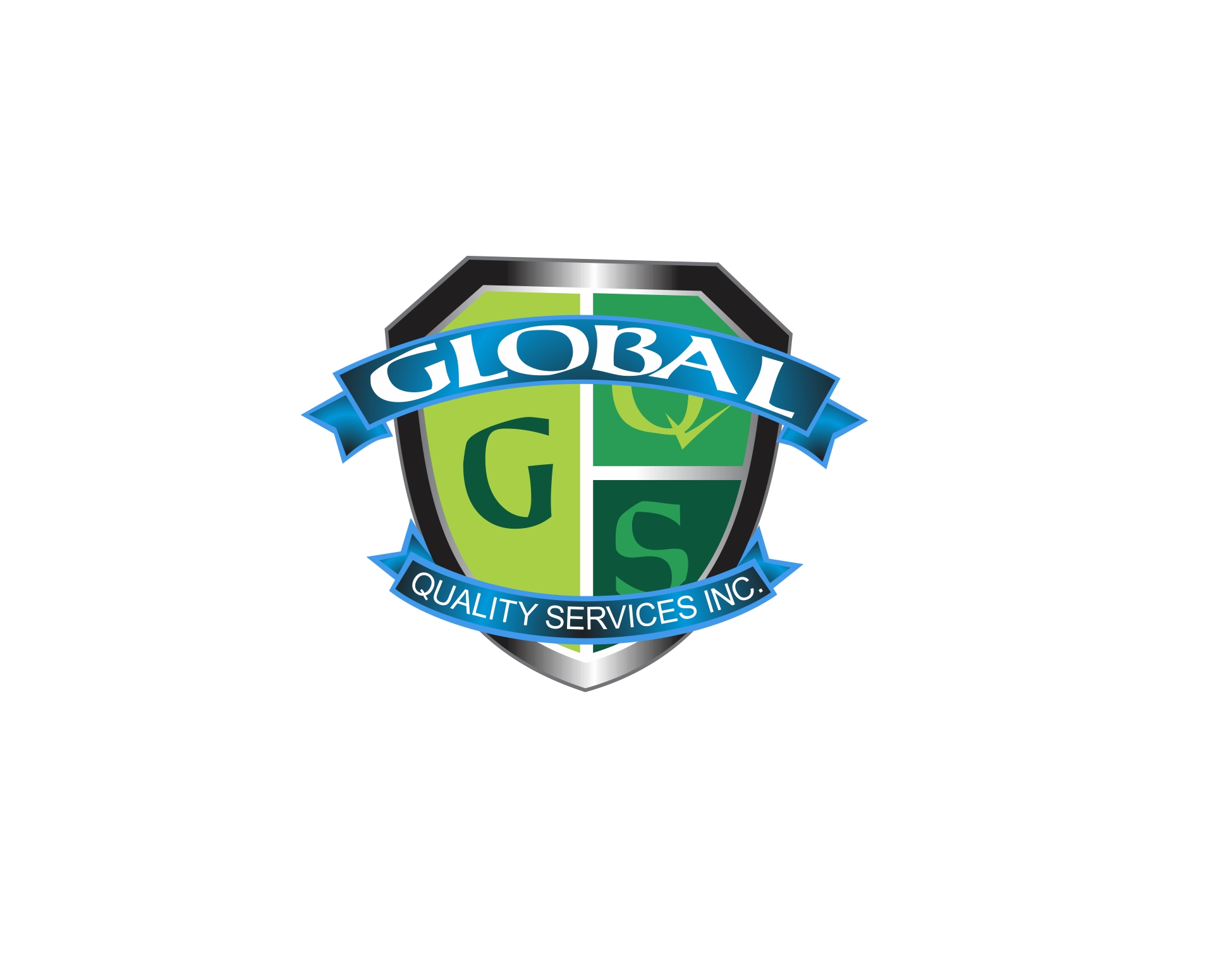 Logo Design by Private User - Entry No. 96 in the Logo Design Contest Inspiring Logo Design for Global Quality Services Inc..
