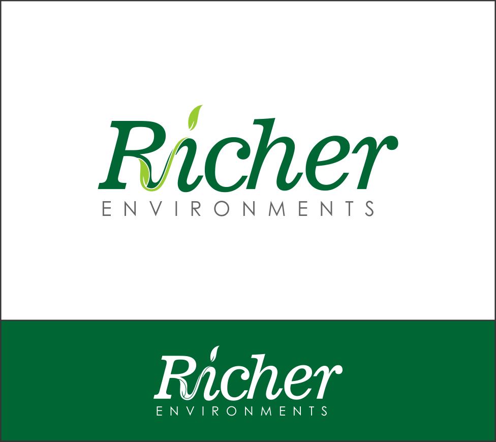 Logo Design by Agus Martoyo - Entry No. 78 in the Logo Design Contest Unique Logo Design Wanted for Richer Environments.
